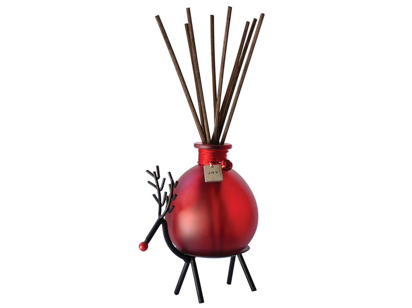 "Rudy Red Reed Diffuser 5.25""W x 3.5""D x 5.5""H"