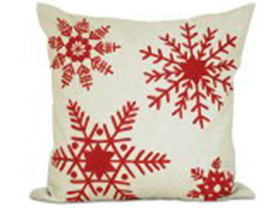 Noella Down Christmas Pillow 20""
