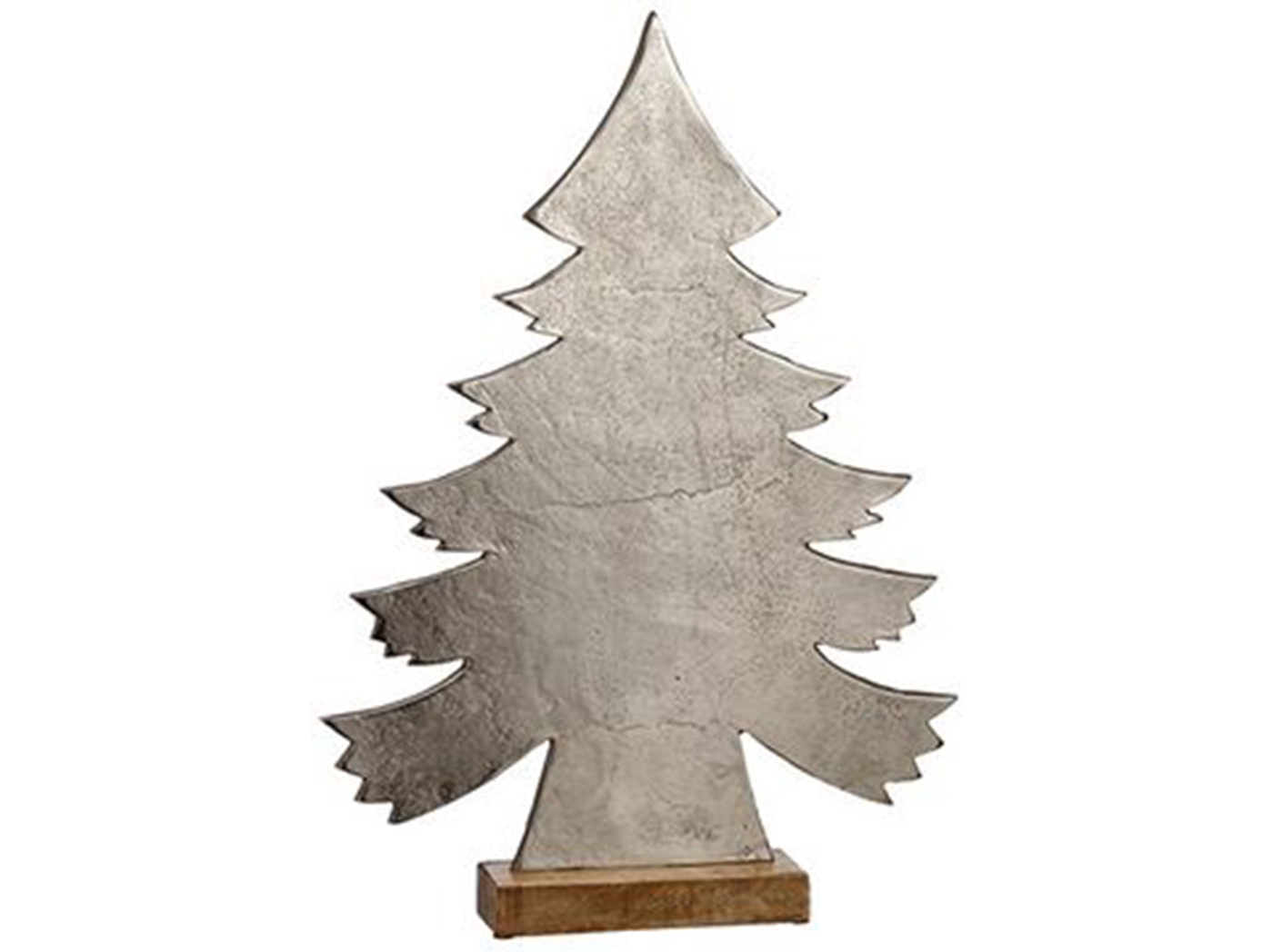 "Metal Christmas Tree Decor 25.5""H"