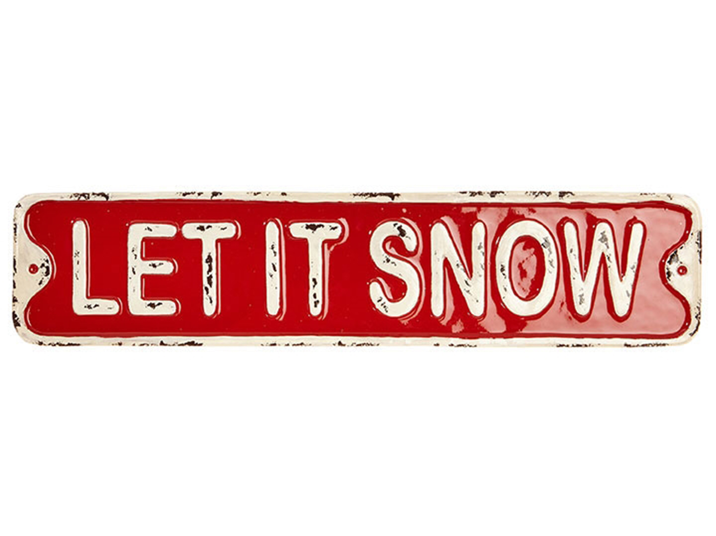 "Let It Snow Sign 20""L"