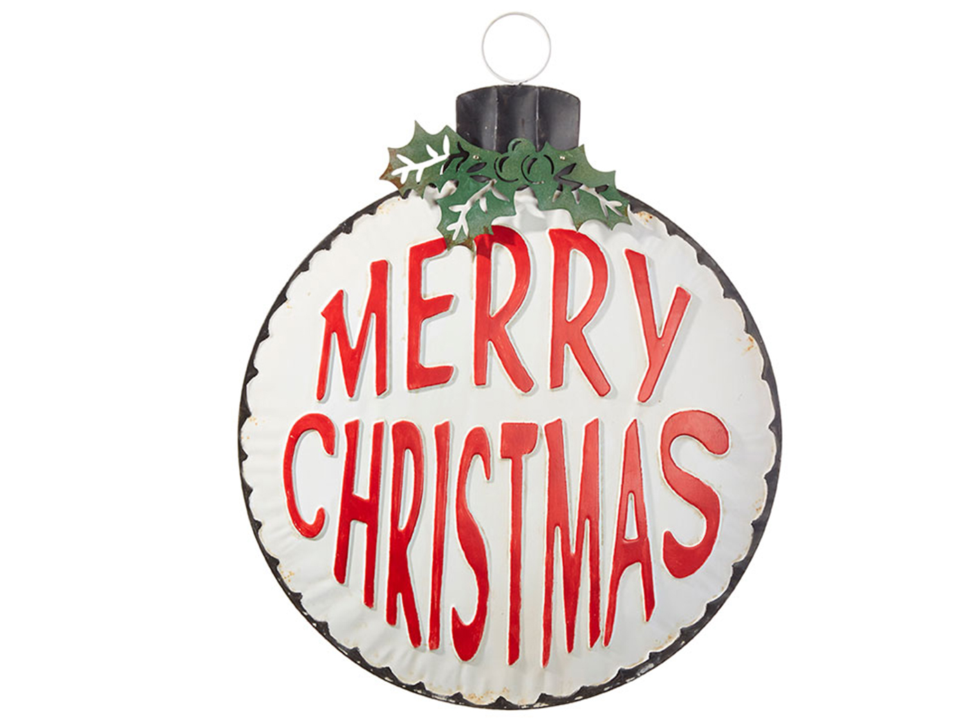 Metal Merry Christmas Ornament Wall Decor 29