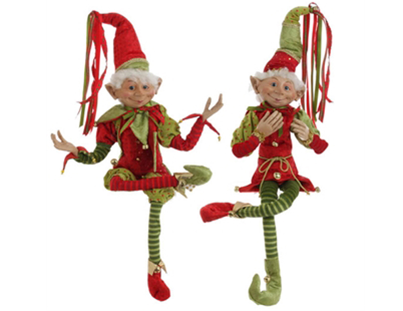 "Assorted Posable Elf 36""H"