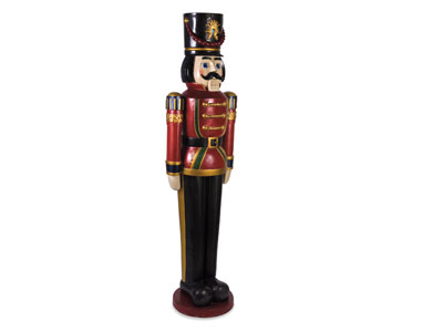 "Oversized Nutcracker 19""W X 71""H"