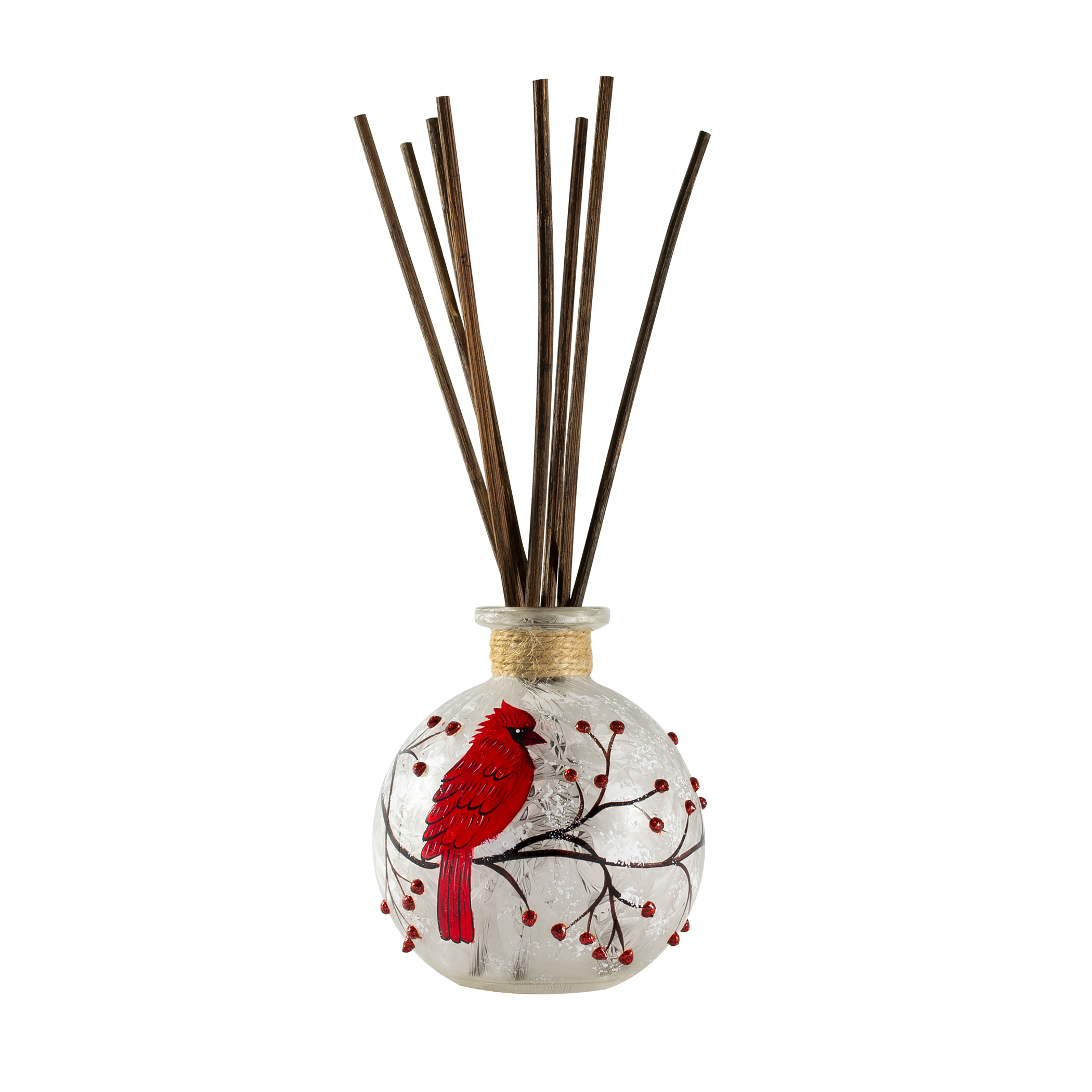 "Cardinal Reed Diffuser 3""W x 4""H"