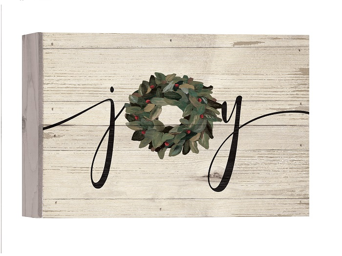 "Joy Box Sign 10""X7""H"