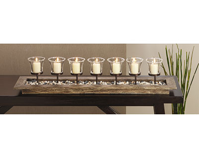 Firenza Votive Centerpiece 31""