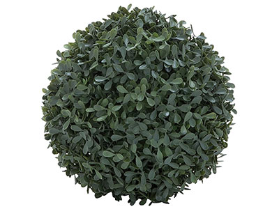 Round Boxwood Ball 8""