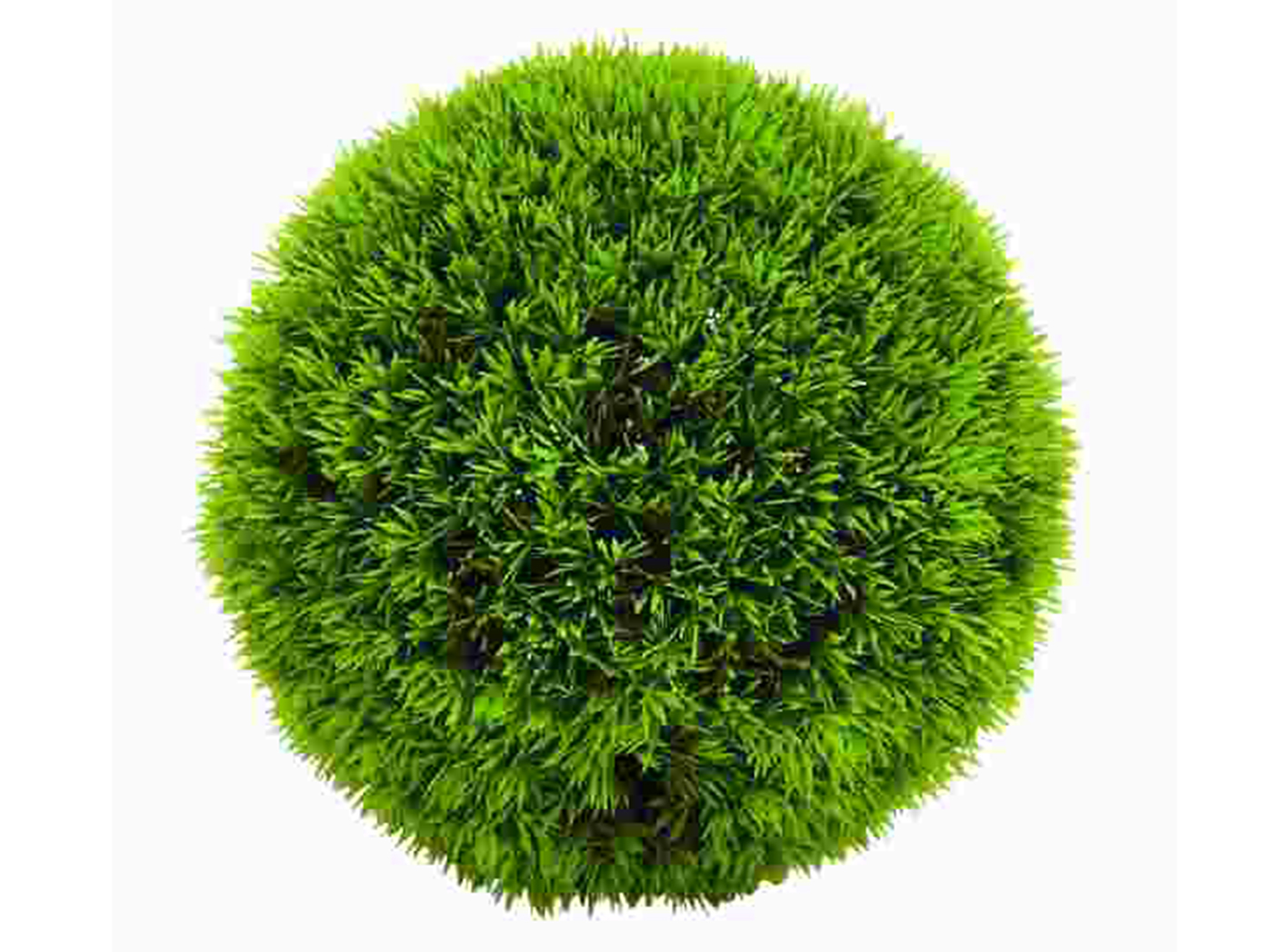 Green Grass Ball 9""