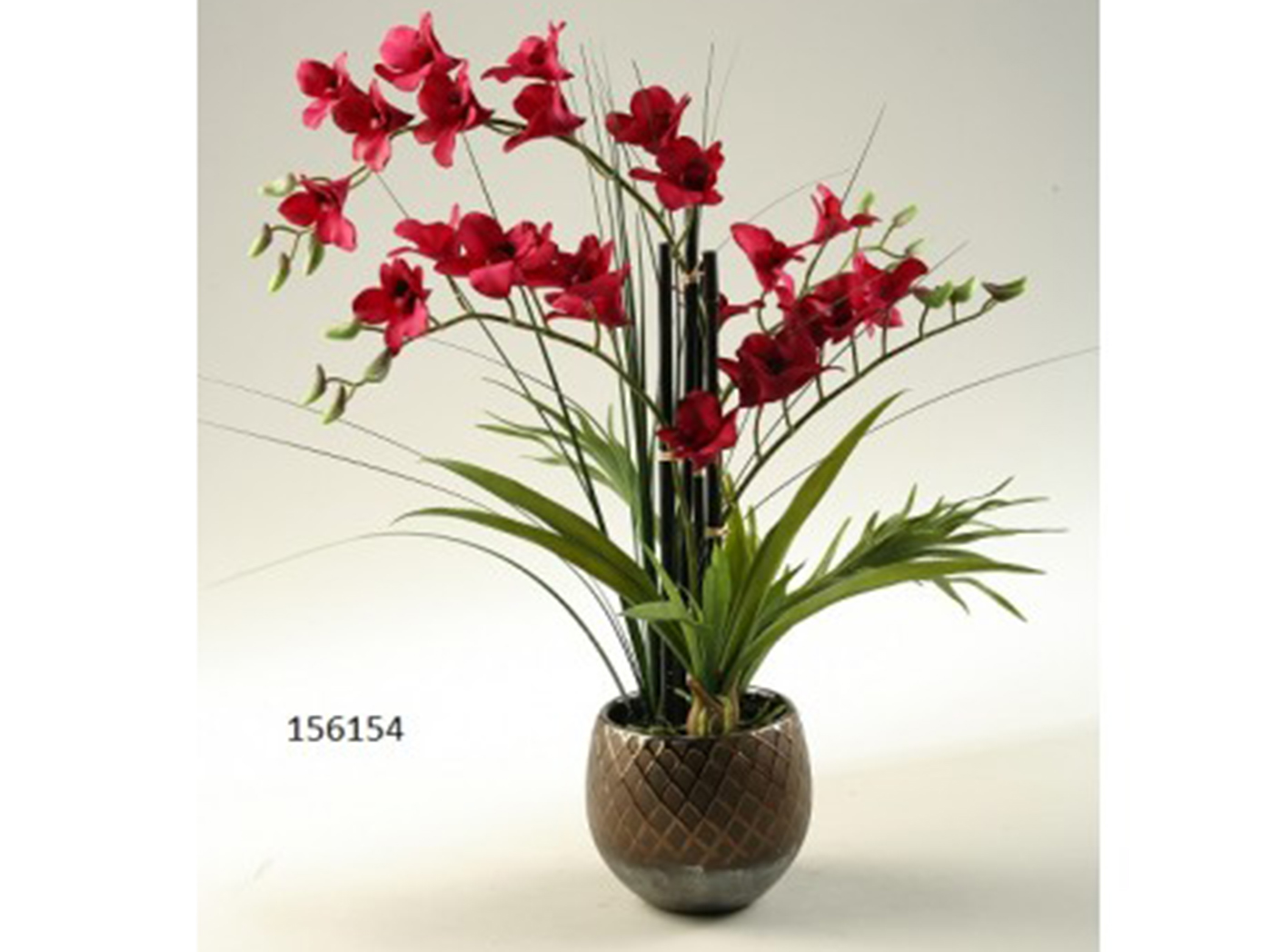 "Red Orchid 16""W x 22""H"