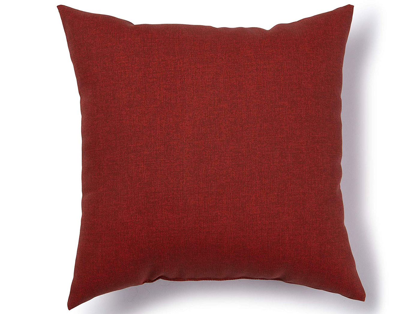 "Jungle Crimson Outdoor Pillow 17""W x 17""H"