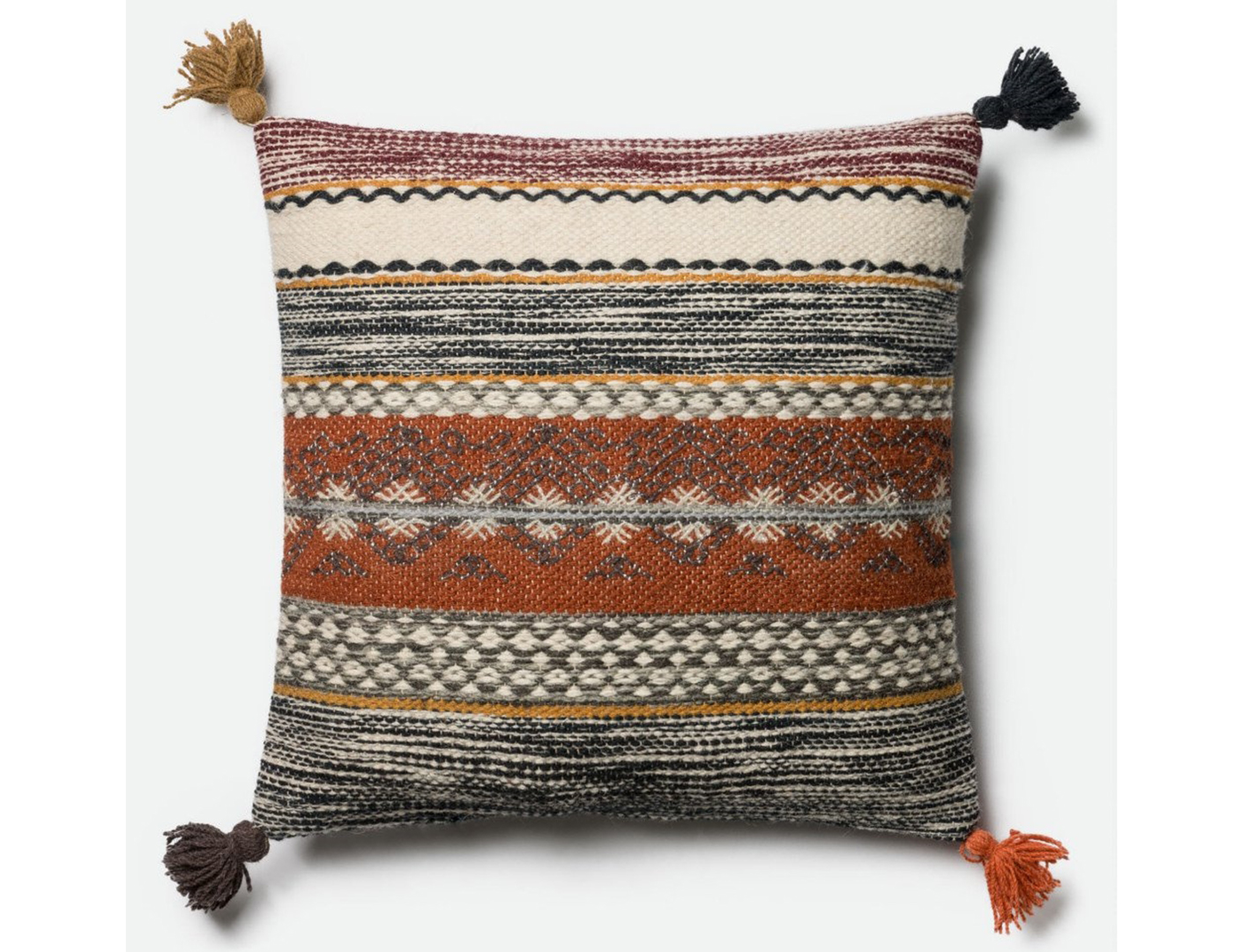 Multi-Color Decorative Pillow