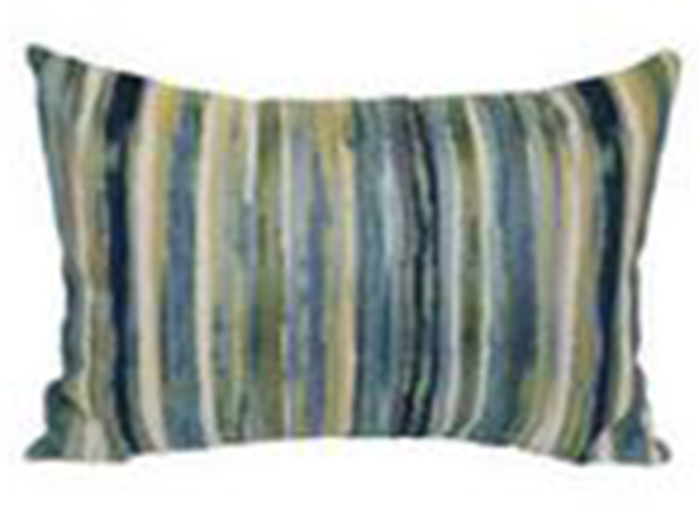 "Pacific Parallel Stripe Pillow 20""W x 14""H"