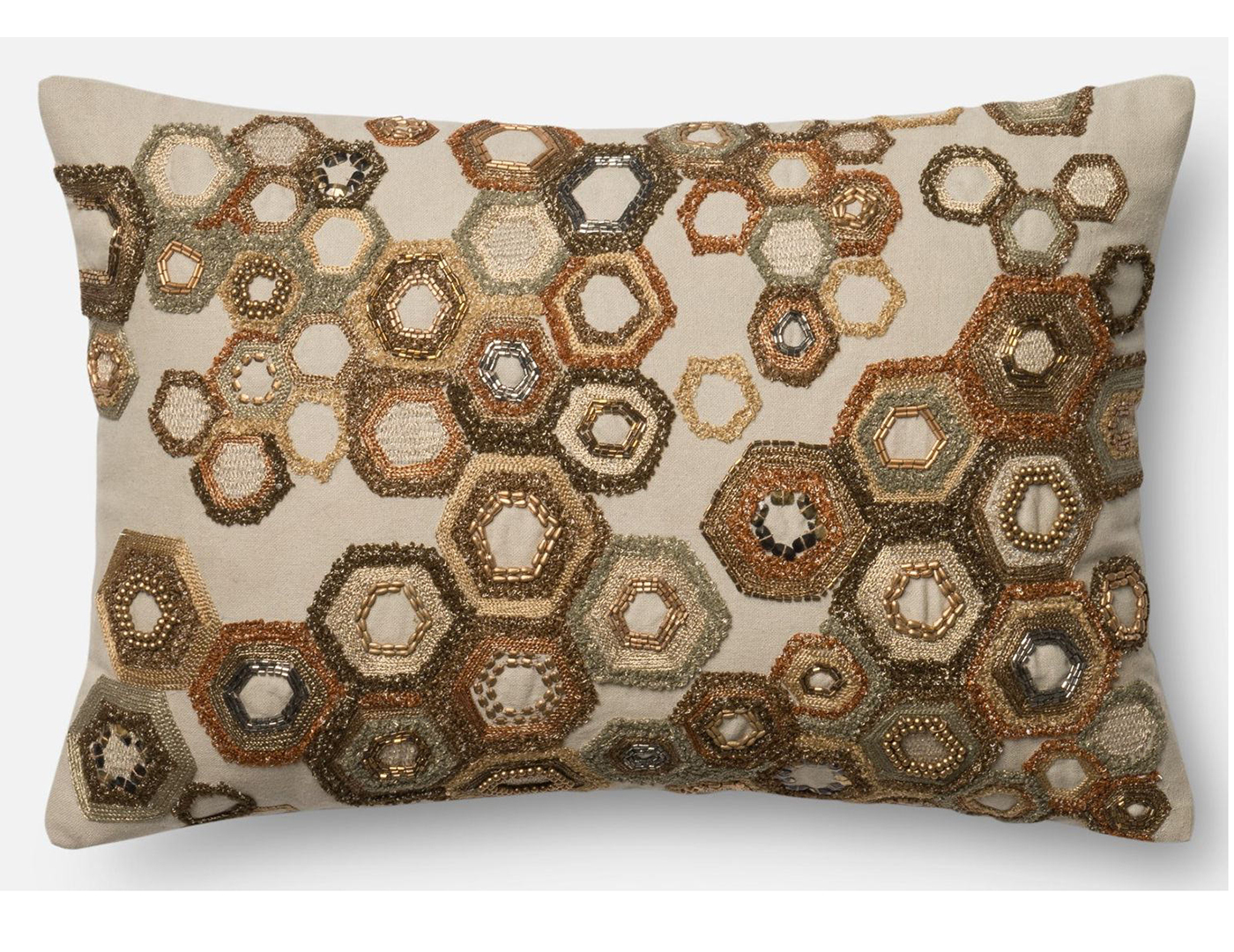 Hexagon Decorative Pillow