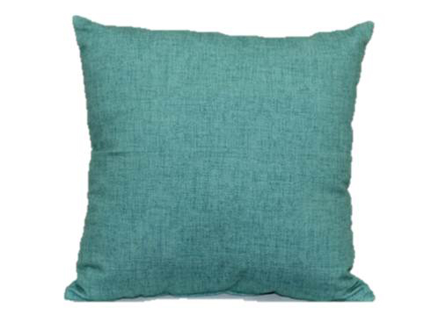 Pacific Linen Turquoise Outdoor Pillow 17""