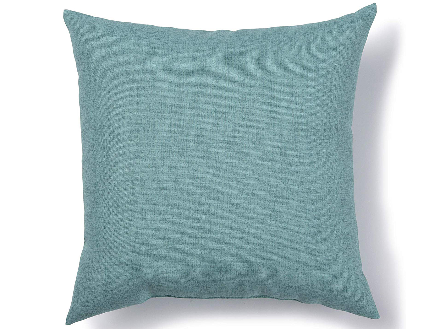 "Bliss Aqua Outdoor Pillow 17""W x 17""H"