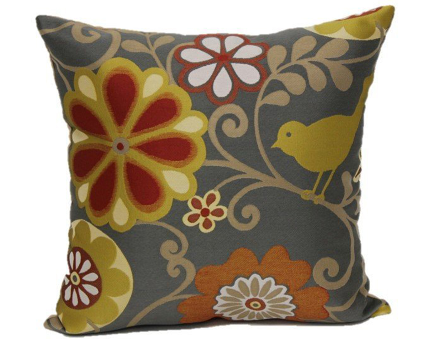 Happy As A Lark At Sunset Pillow 18""