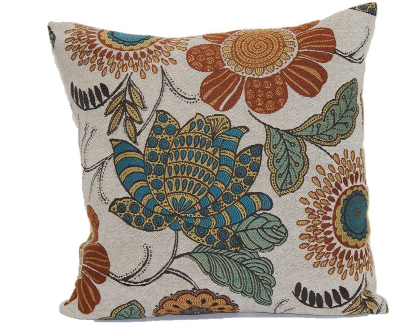 Tropical Gerbera Pillow