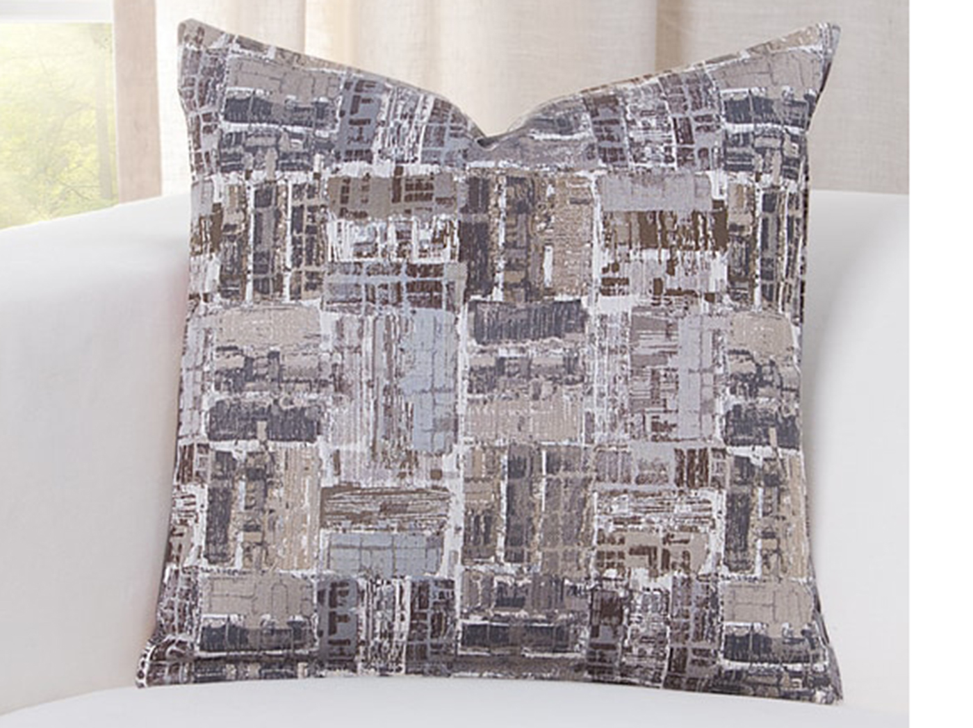 "Arthouse Granite Pillow 16""W x 16""H"