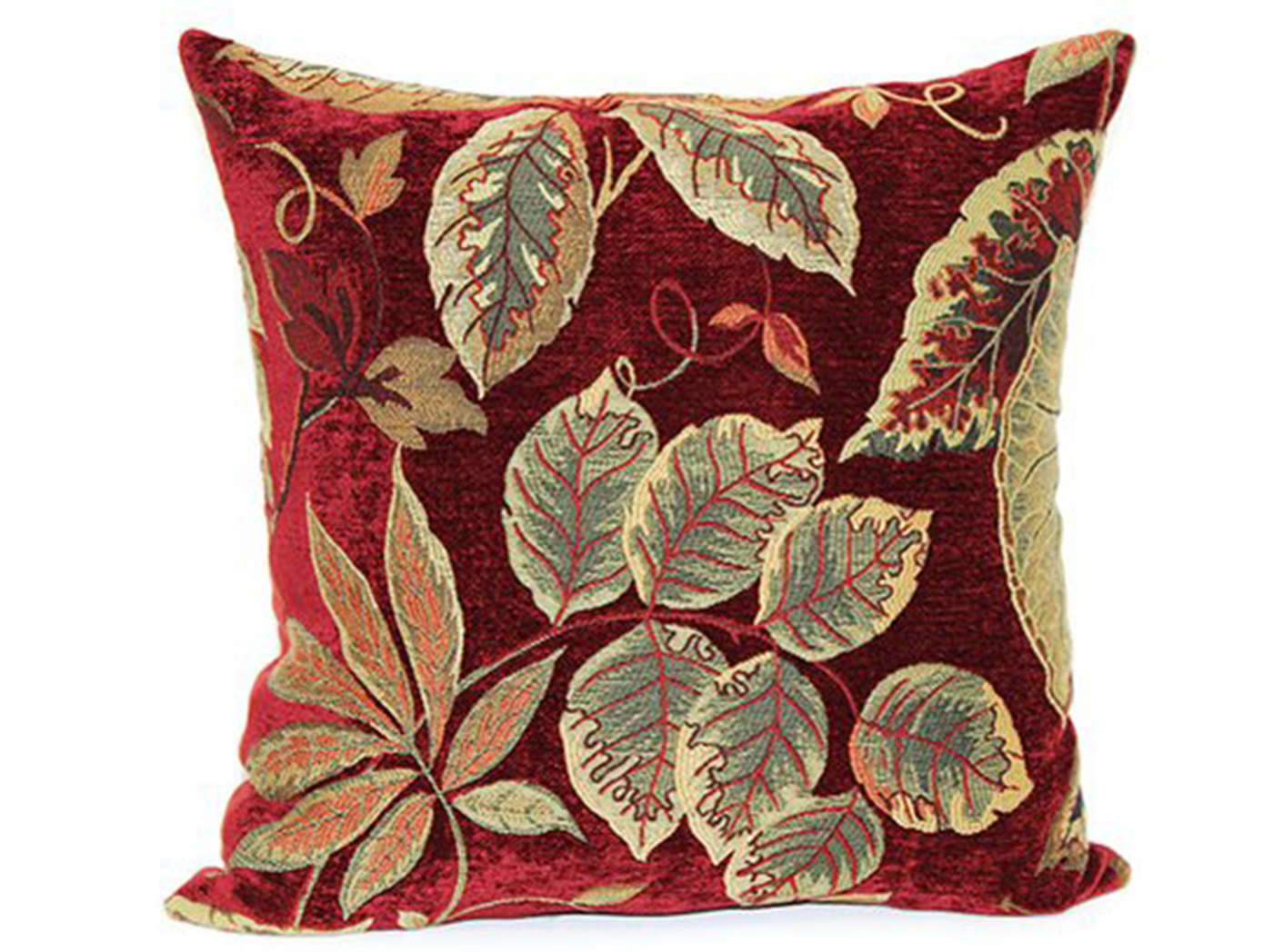 "Red Sagaponack Pillow 18""W x 18""H"