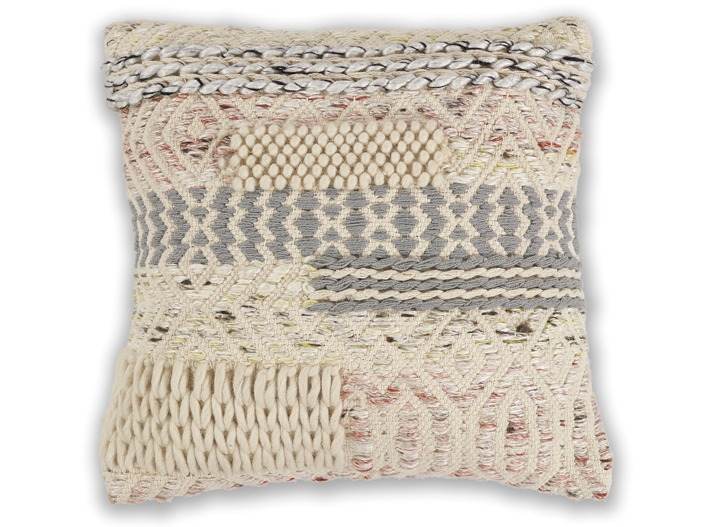 "Cabo Wool Pillow 18""W x 18""H"