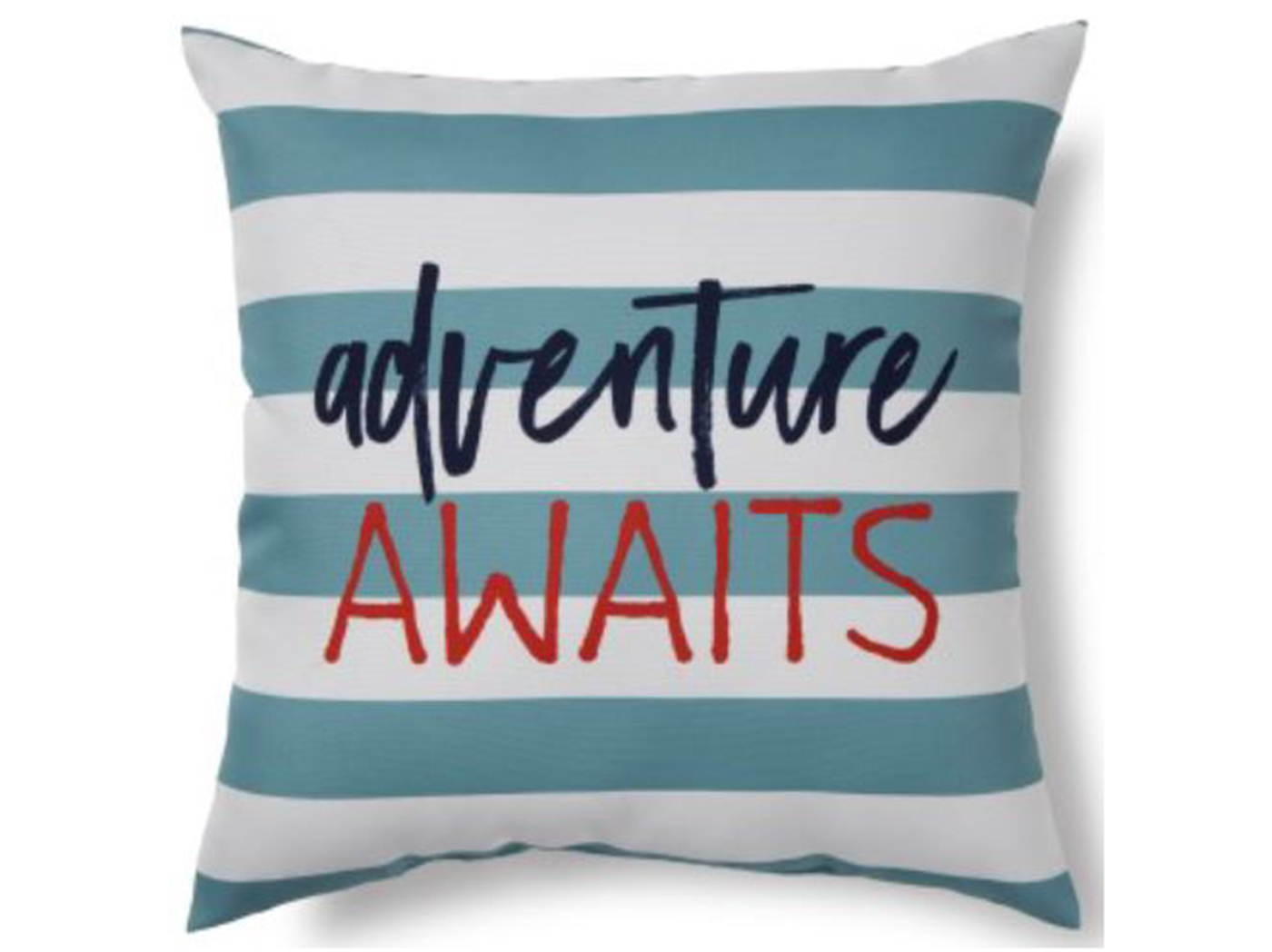 "Adventure Outdoor Pillow 17""W x 17""H"