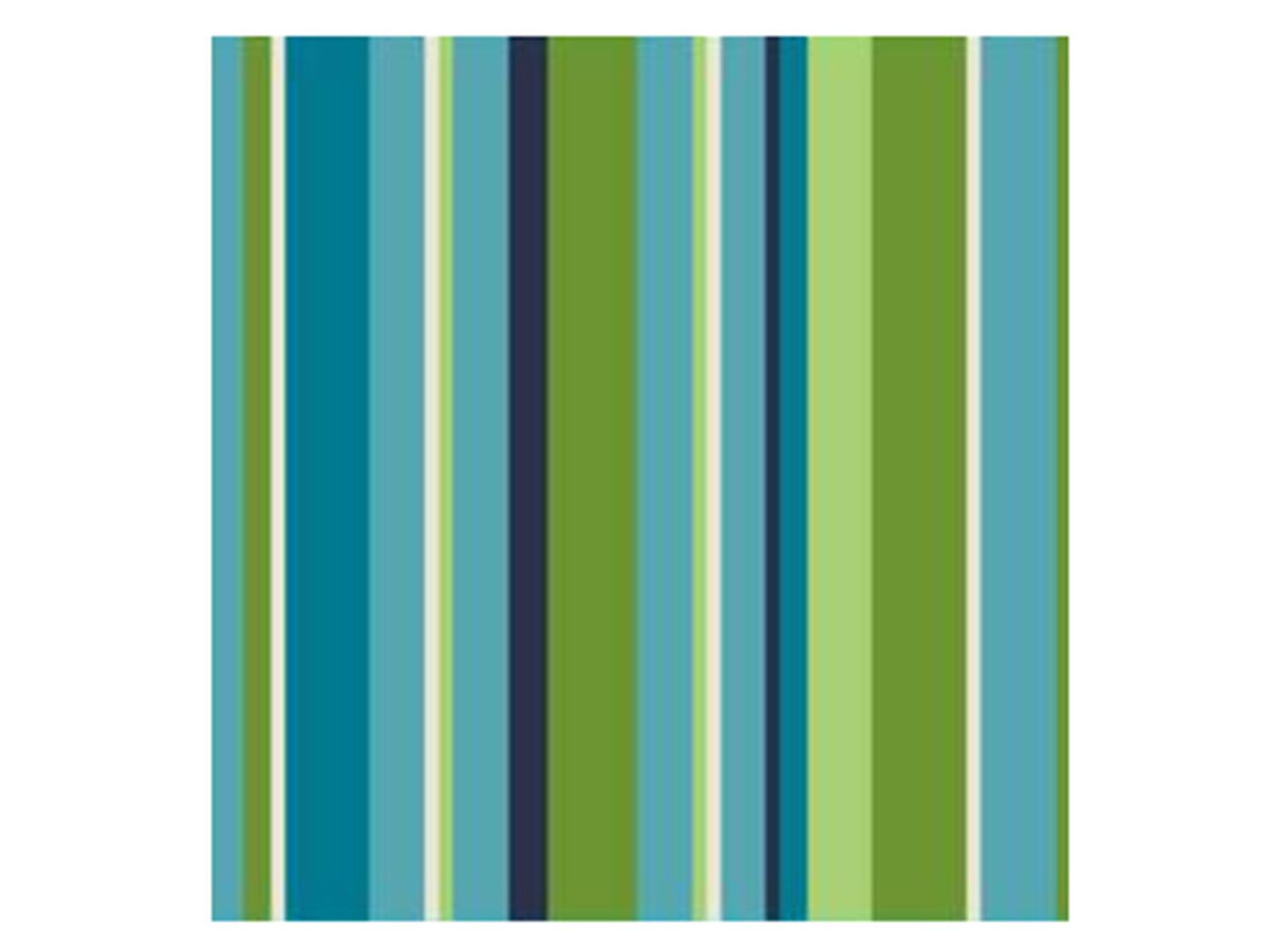 Tropical Stripe Outdoor Pillow 17""