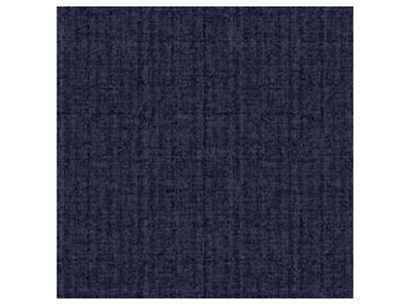 Flannel Texture Navy Outdoor Pillow 17""