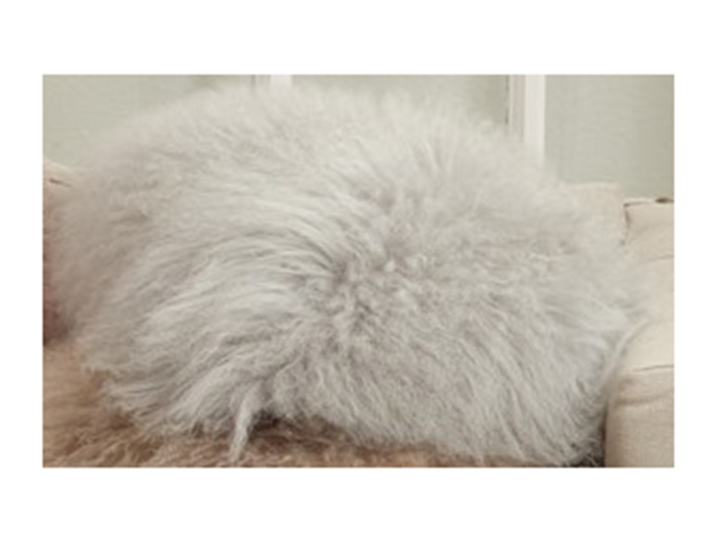 Fog Fur Pillow