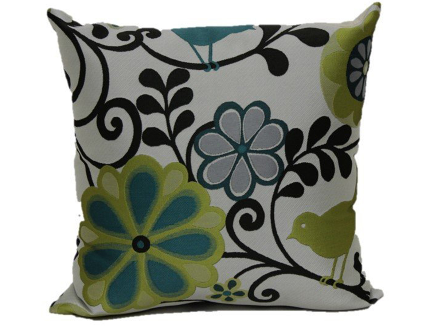 Happy As A Lark In the Caribbean Pillow 18""
