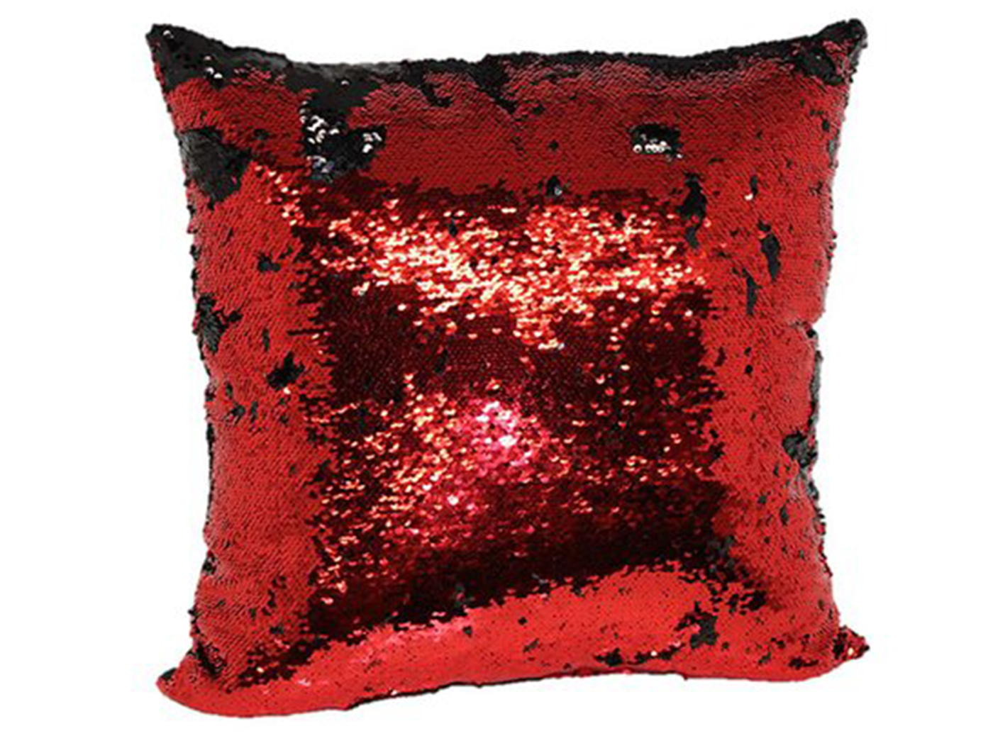 Red And Black Mermaid Pillow 18""