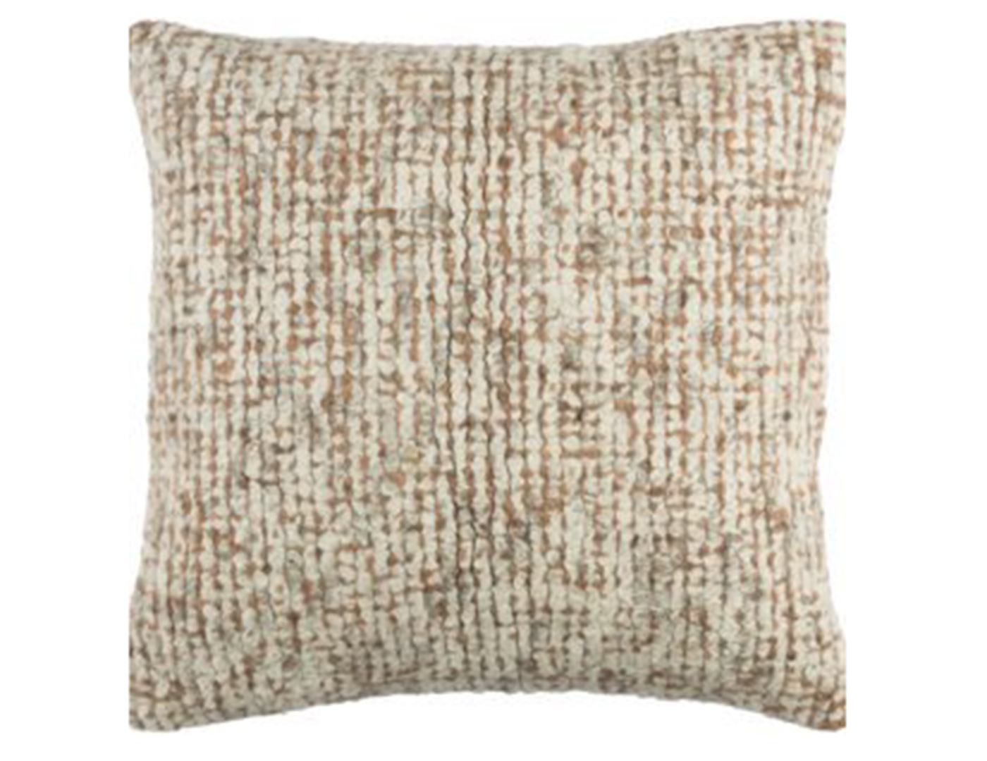 Rust and Cream Pillow