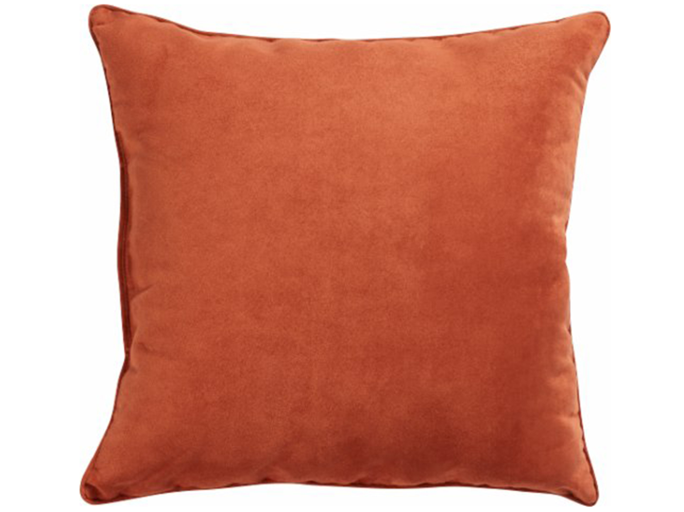 "Clay Faux Suede Pillow 18""W x 18""H"