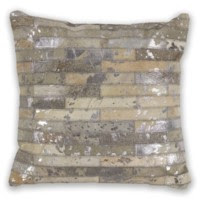 "Grey Elements 18""X 18"" Pillow"