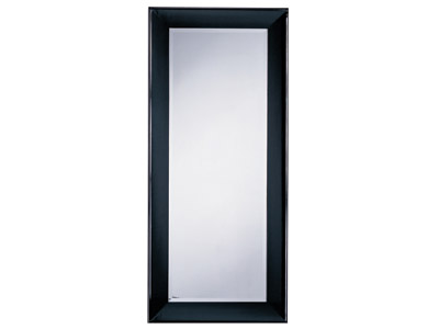 "Cappuccino Leaner Mirror 34""W x 76""H"