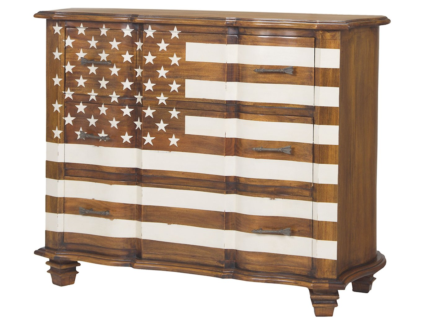 American Flag Chest