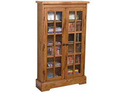 Sedona CD/DVD Cabinet