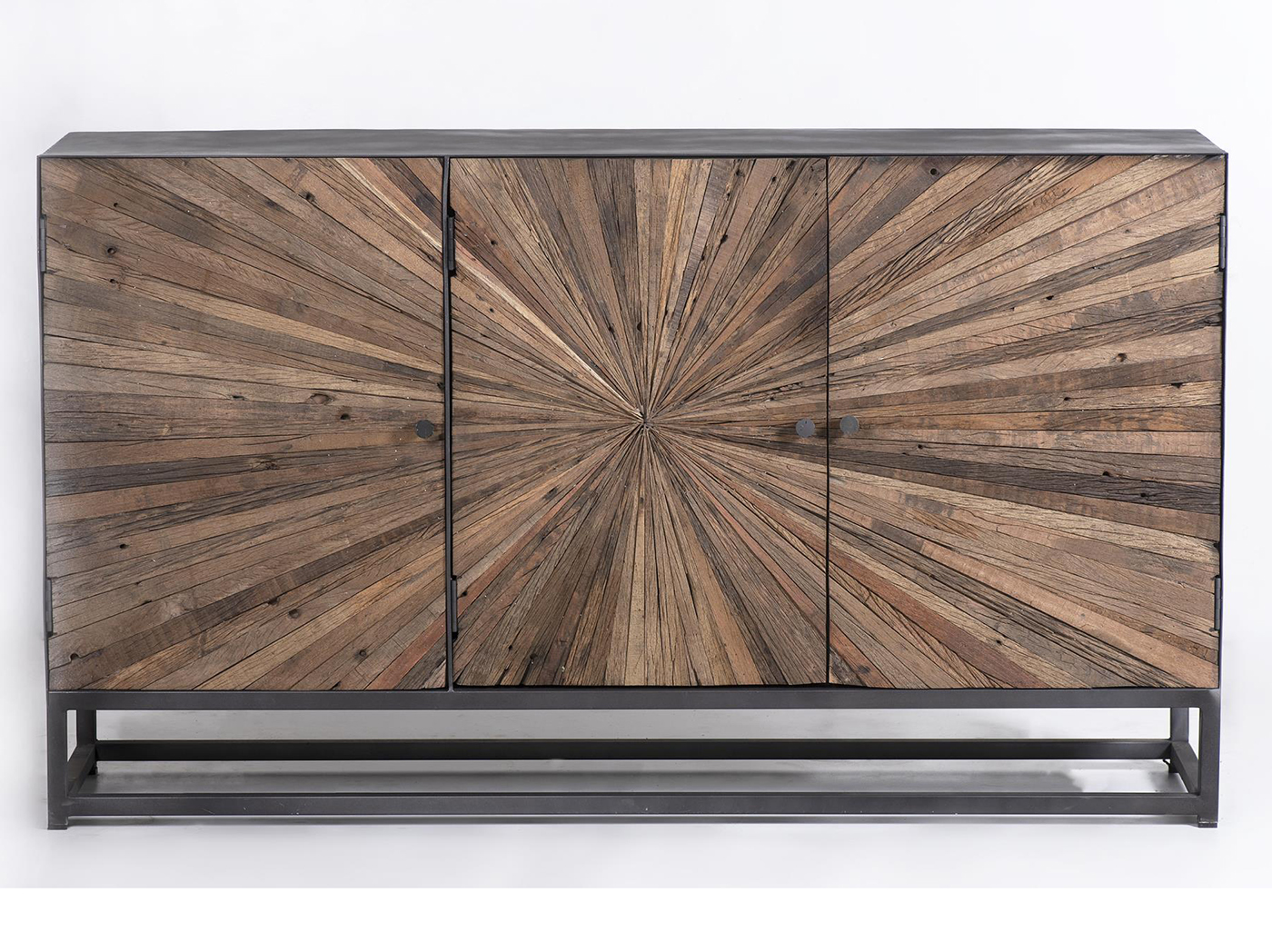 Astral Plains Natural Reclaimed 3 Door Cabinet