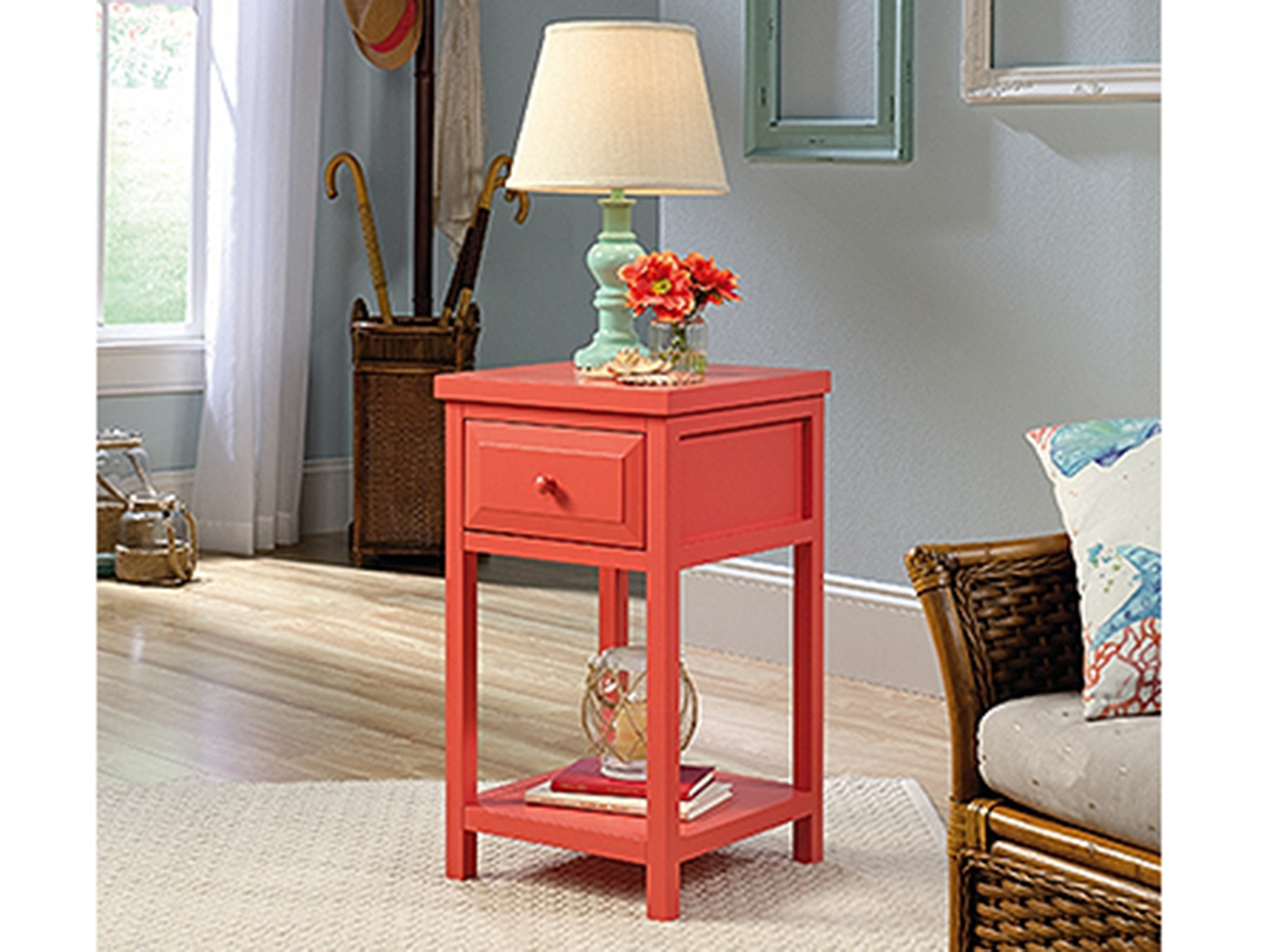 Coral Chairside Table