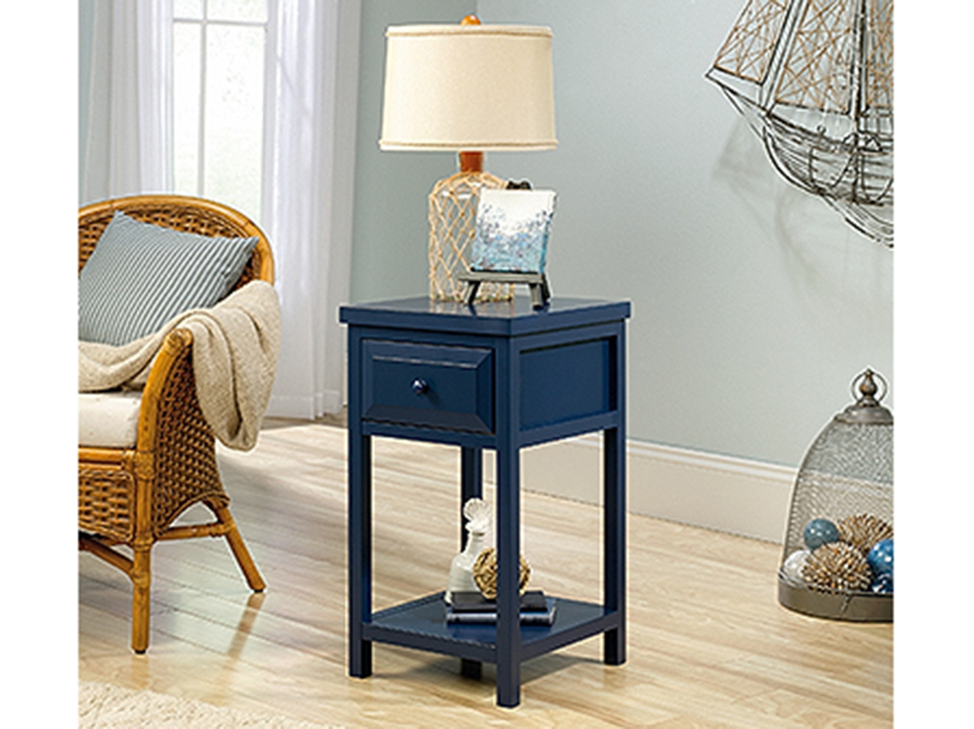 Indigo Chairside Table