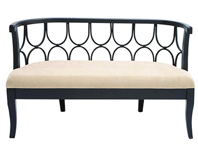 Chocolate Accent Bench