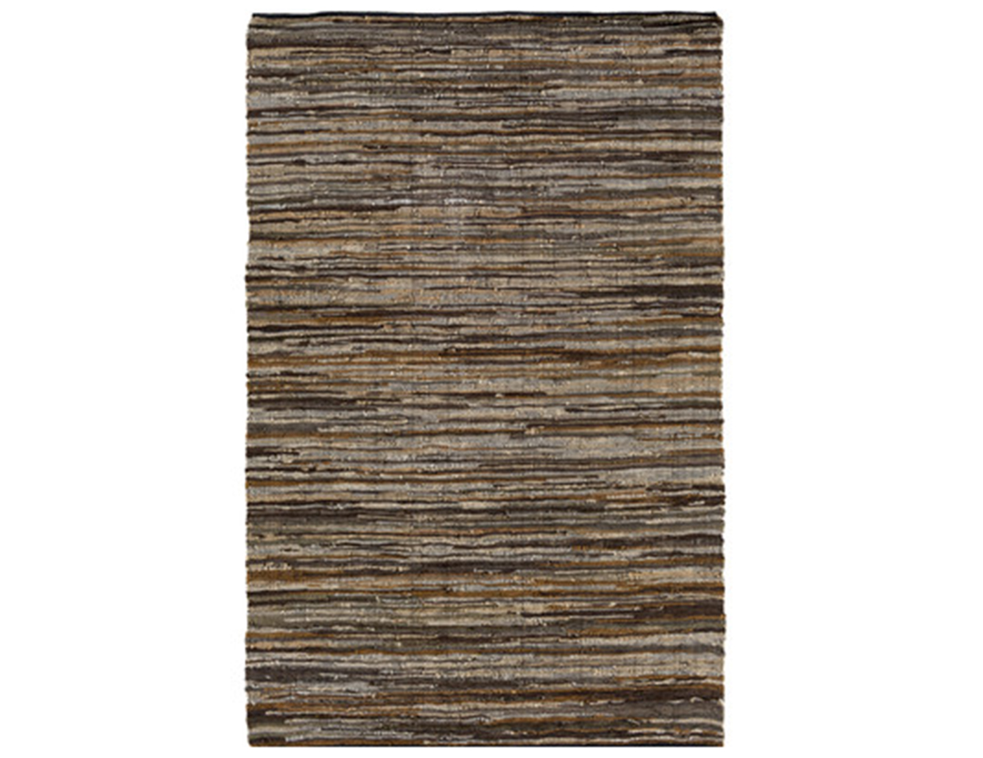 "Log Cabin Area Rug 5'W x 7'6""L"