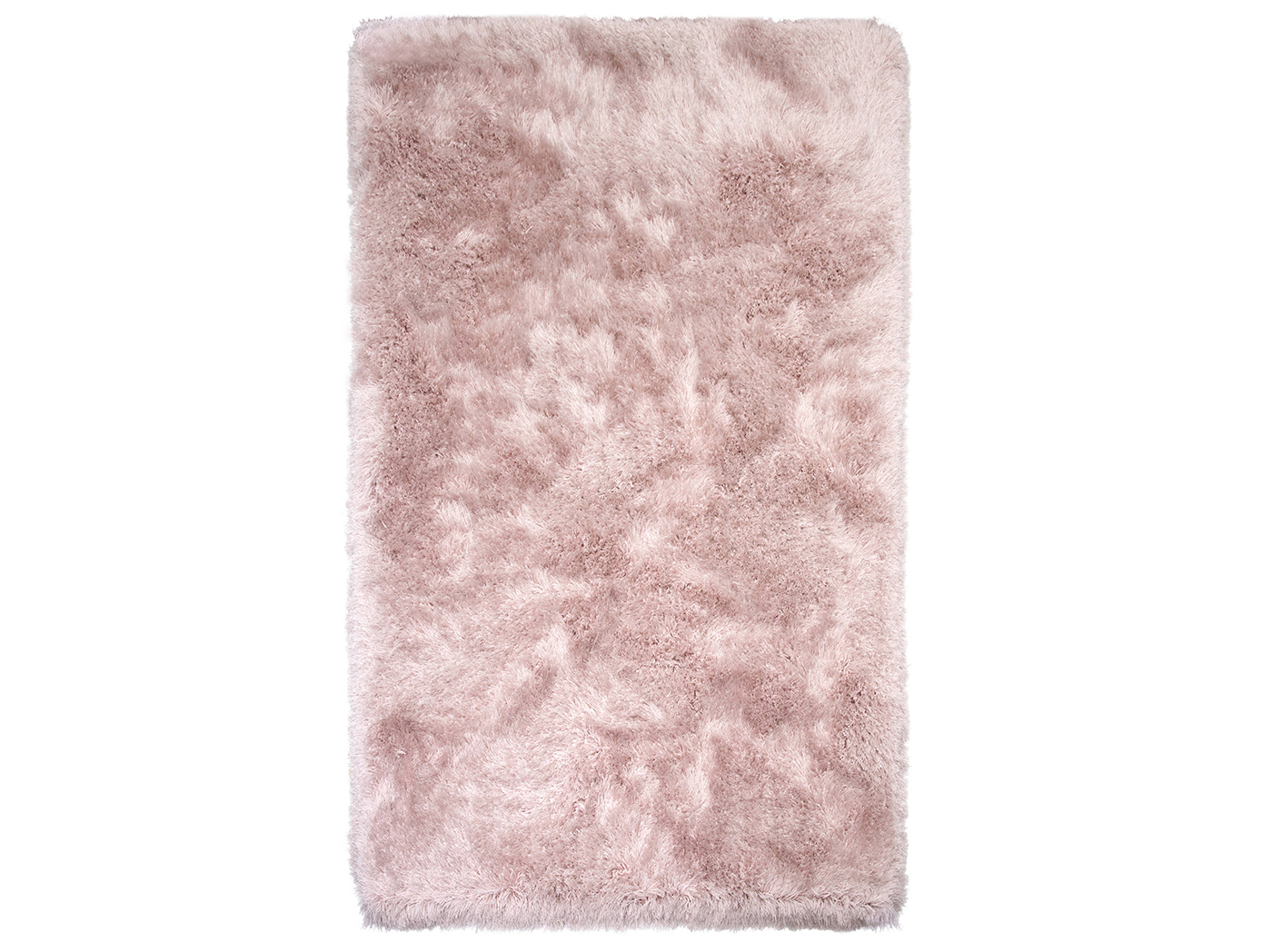 Sparkle Shag Rose Area Rug 5'x 7'6""