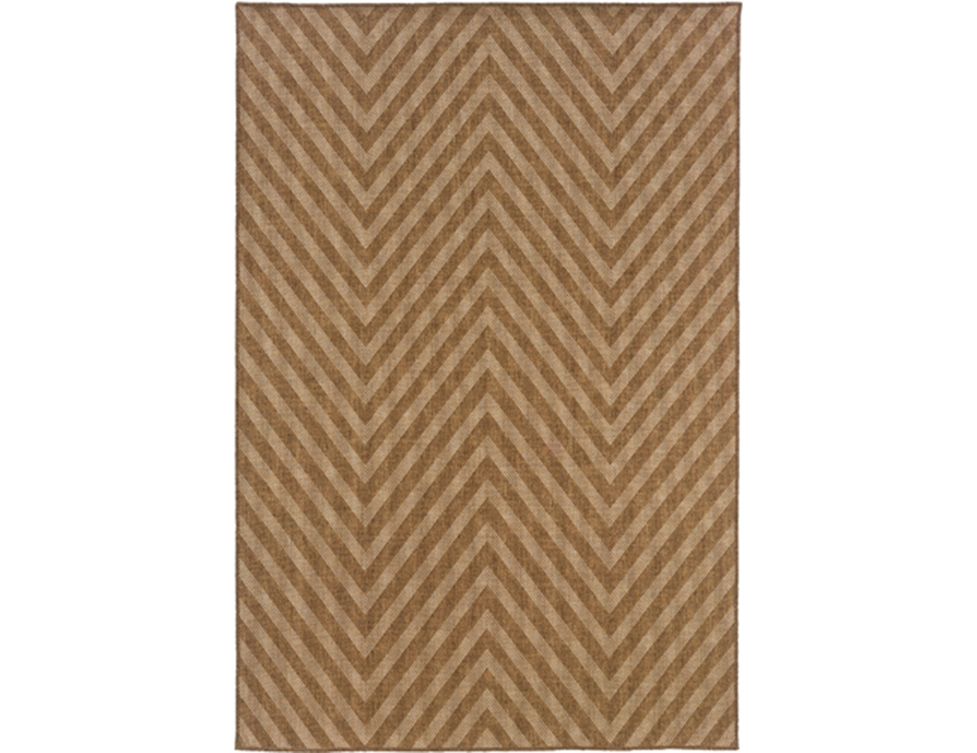 Natural Chevron Rug