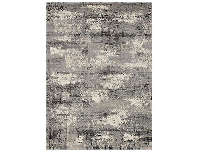 "Viera Grey Area Rug 5'3""X7'7"""
