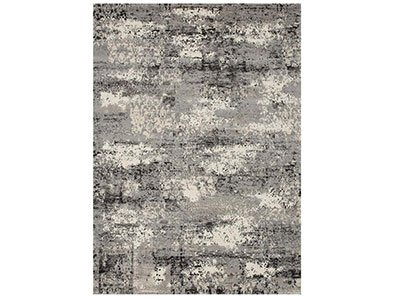 "Viera Grey Area Rug 7'7""x 10'6"""