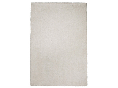 "Bliss Ivory White Area Rug 7'6""X 9'6"""