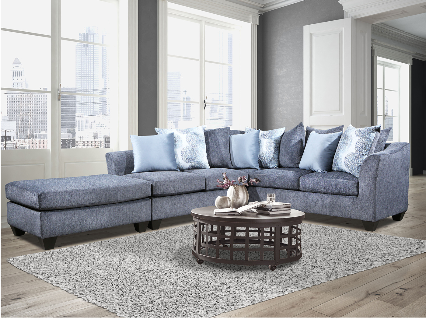 RONDUE 2-pc. SECTIONAL