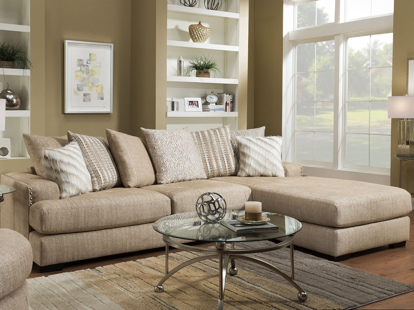 Pasadena 2 Pc. Chaise Sofa