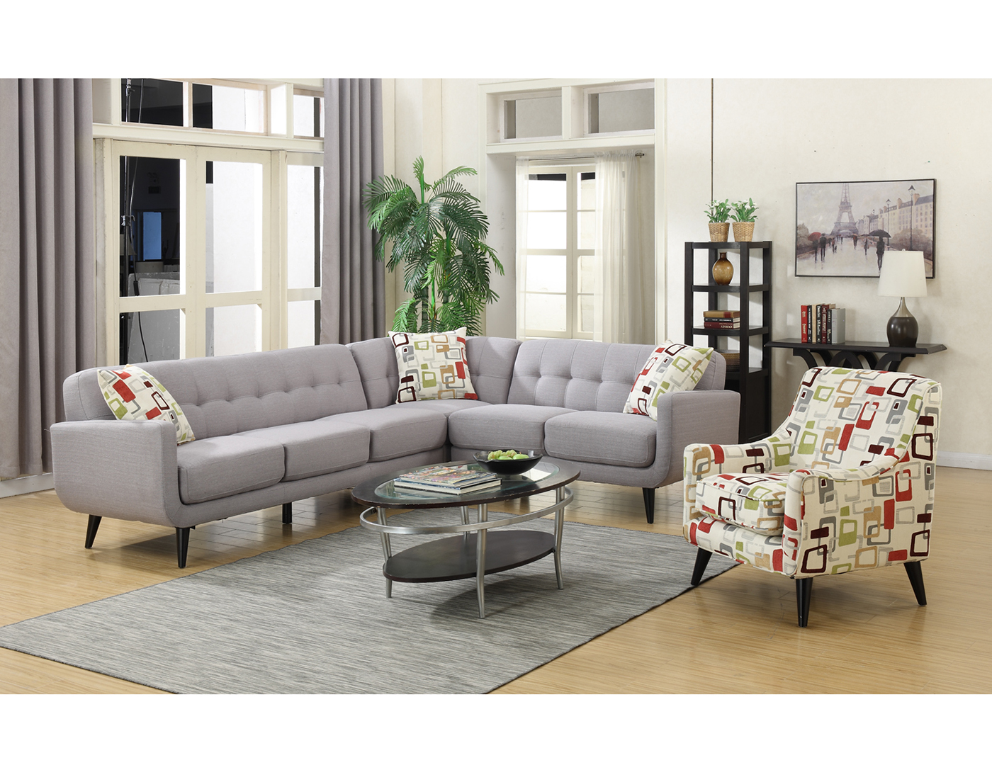 Hubbard 3-pc. Sectional