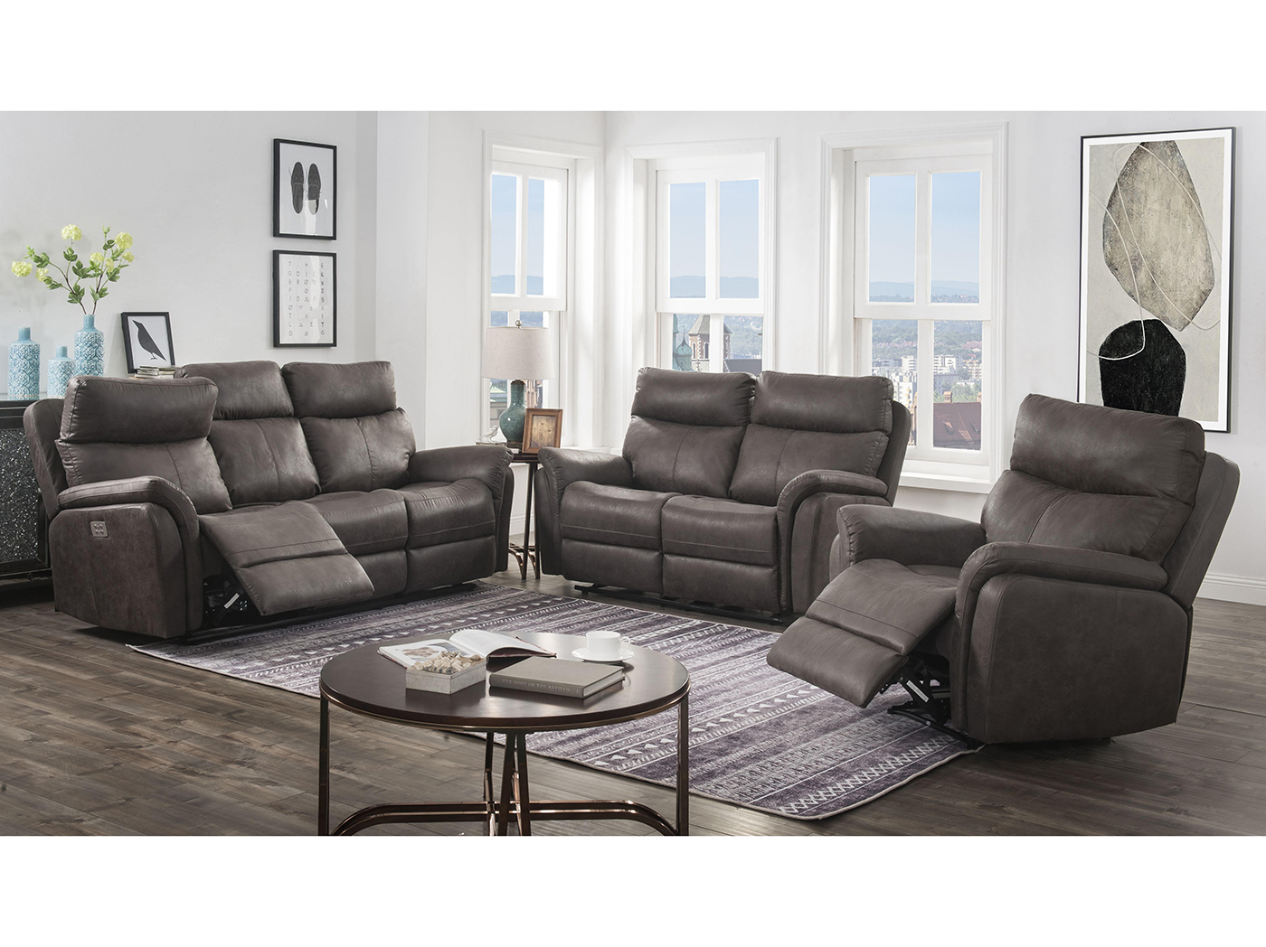 Tanner Hall Power Headrest Sofa
